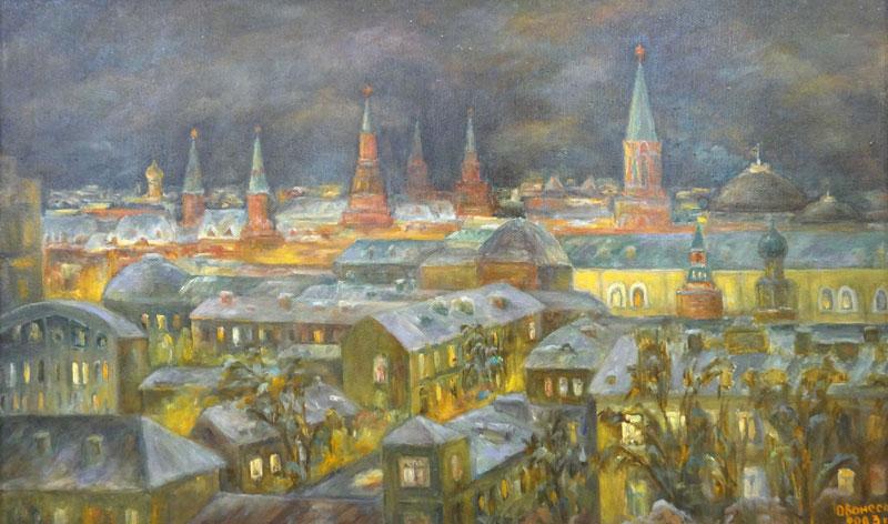 Ночной город. 2003