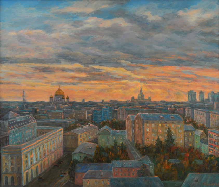 Moscow evening