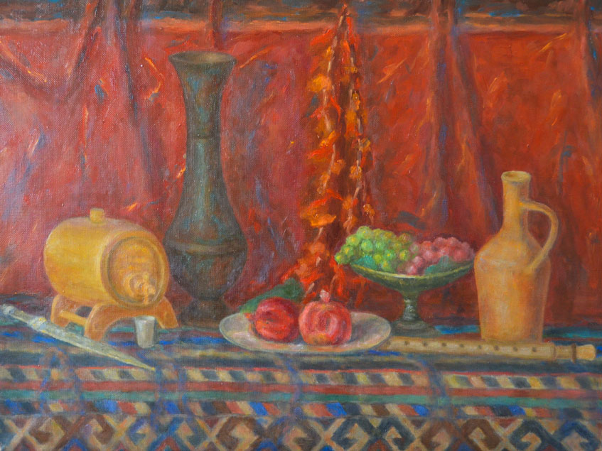 Still lifes and interiors