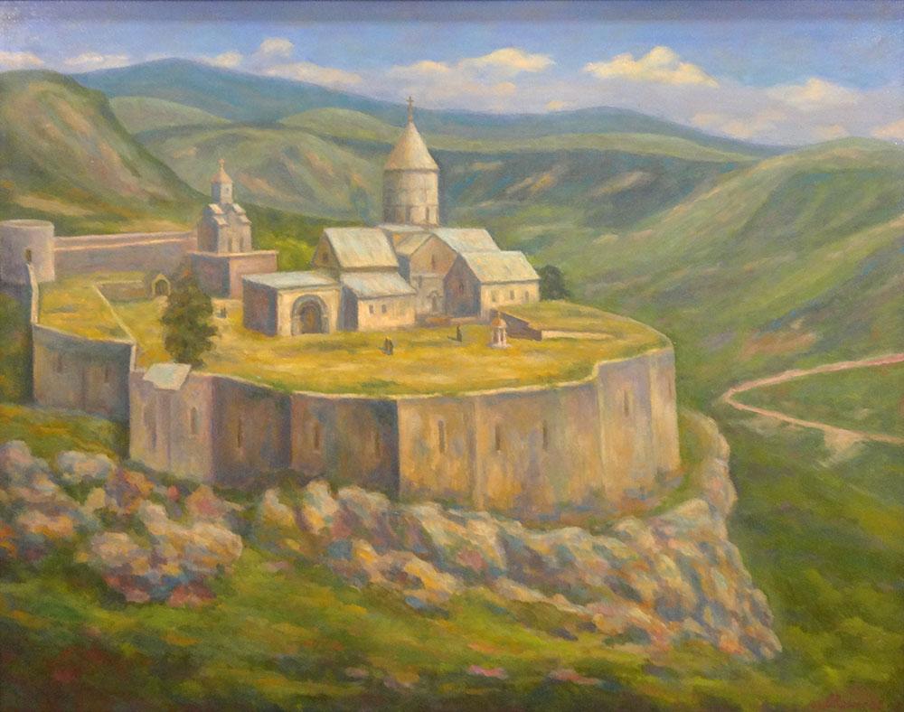 Монастырь в Татеве