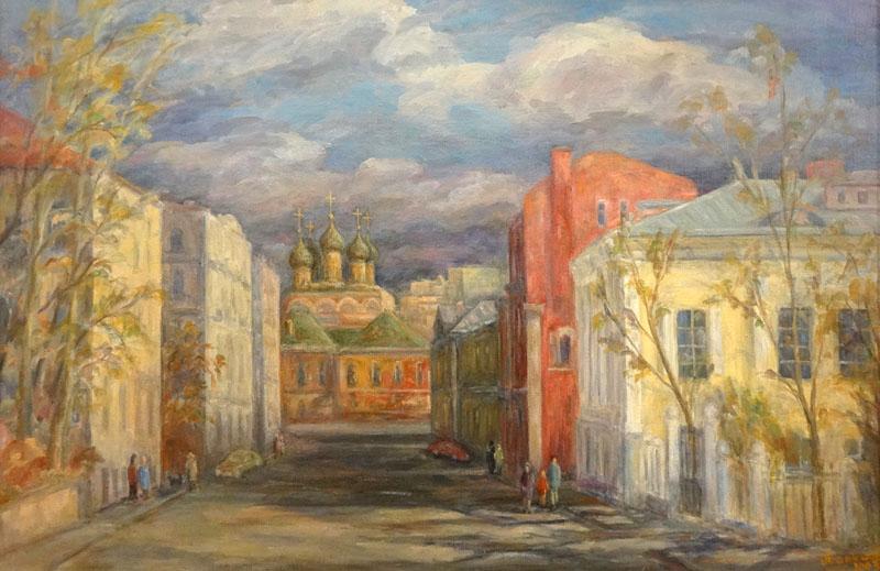 Улица Москвина