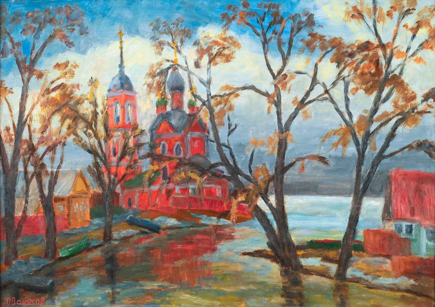 Stormy spring in Pereslavl